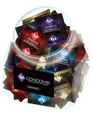 Id Assorted Condoms - Jar Of 144