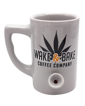 Wake & Bake Coffee Mug - 10 Oz Grey