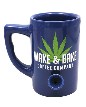 Wake & Bake Coffee Mug - 10 Oz Blue