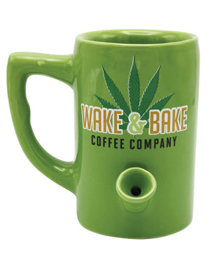 Wake & Bake Coffee Mug - 10 Oz Green
