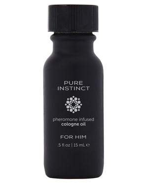 Pure Instinct Pheromone Cologne Oil - 15 Ml