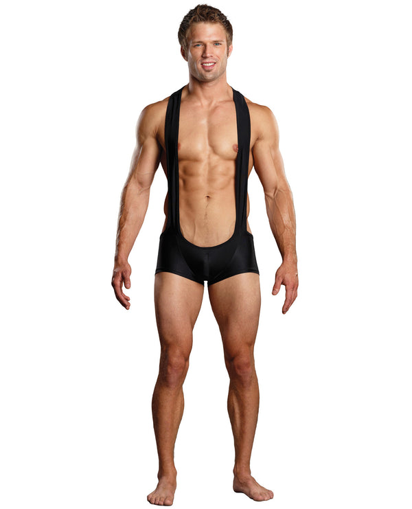 Male Power Sling Short Black S-m