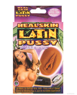 Real Skin Latin Pussy