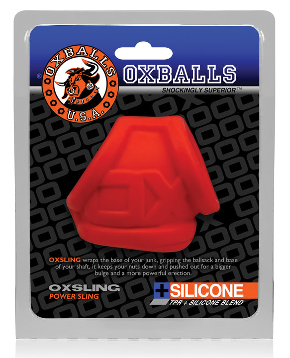Oxballs Oxsling Cocksling - Red Ice