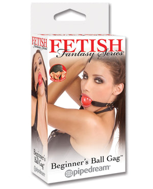 Fetish Fantasy Series Beginner Ball Gag - Red