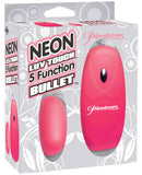 Neon Luv Touch Bullet - 5 Function Pink