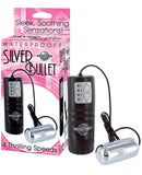Silver Bullet Massager Waterproof - 4 Speed Silver