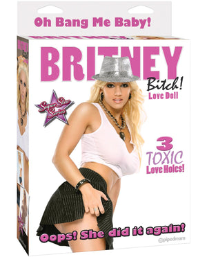 Britney Bitch Love Doll W-3 Toxic Love Holes