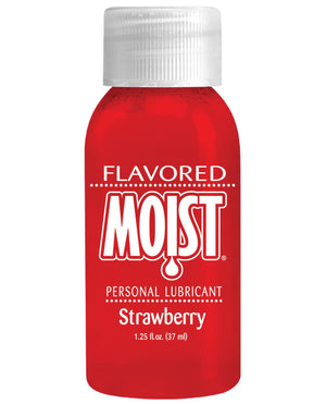Flavored Moist - 1 Oz Strawberry