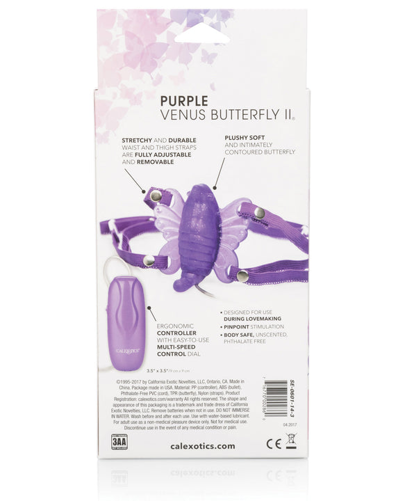Venus Butterfly 2 - Purple