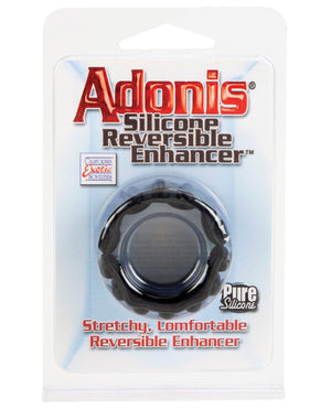 Adonis Silicone Reversible Enhancer - Black