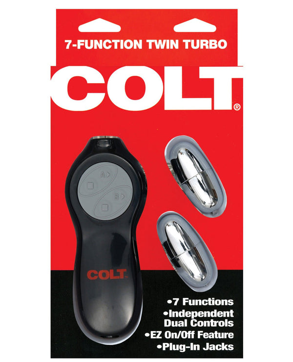 Colt 7-function Twin Turbo Bullets