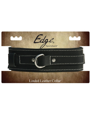 Edge Leather Collar