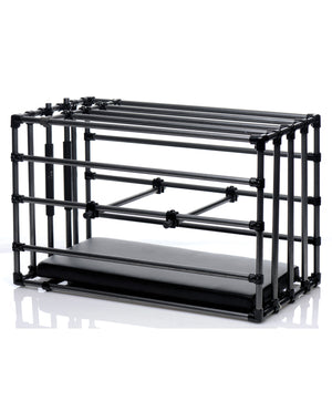 Master Series Adjustable Kennel Cage W-padded Board