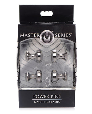 Master Series Power Pins Magnetic Nipple Clamp Set