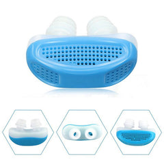 2-in-1 Anti-Snoring and Air Purification Device!