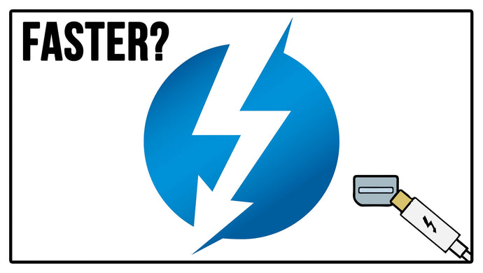 WILL THUNDERBOLT MAKE MY DRIVES FASTER?