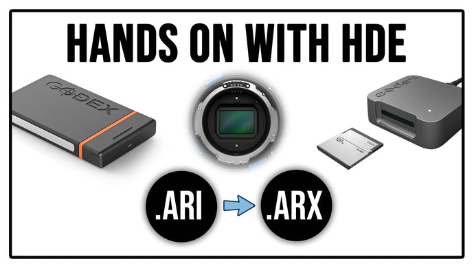 HANDS ON WITH ARRIRAW HDE