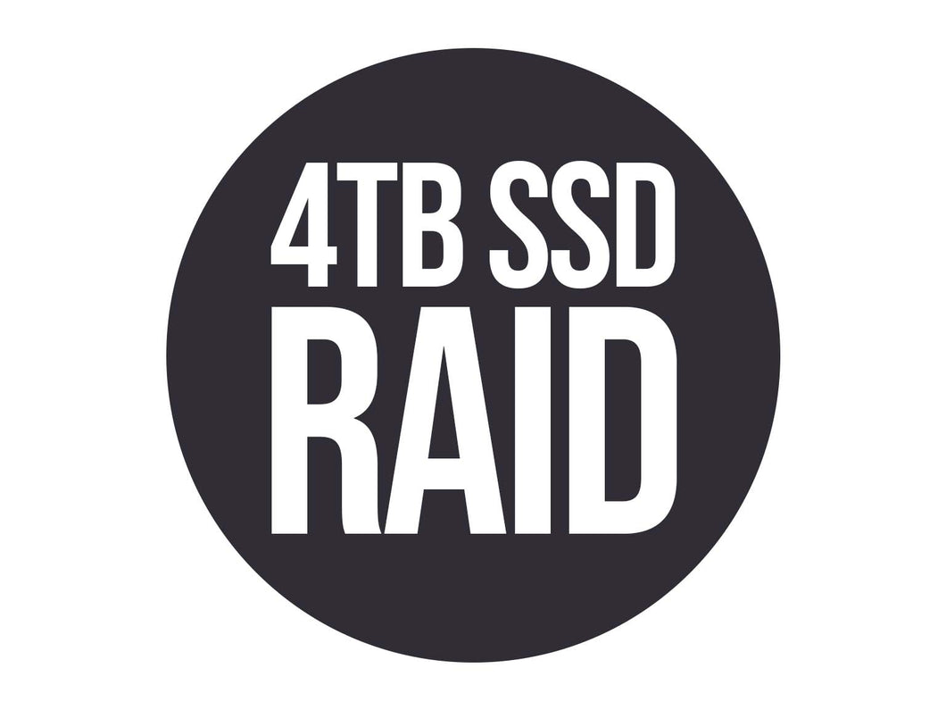 Film Drives '2-BAY SSD RAID'