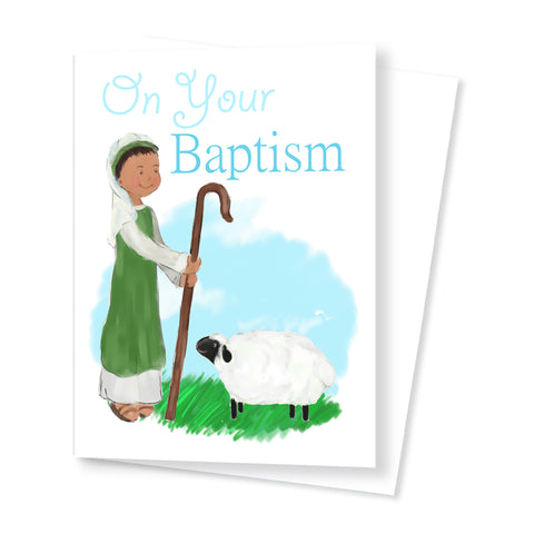 'On your Baptism' Card