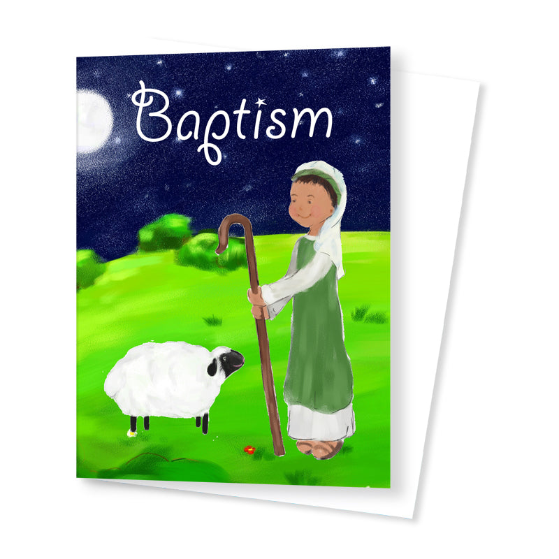 'Baptism' Celebration Card