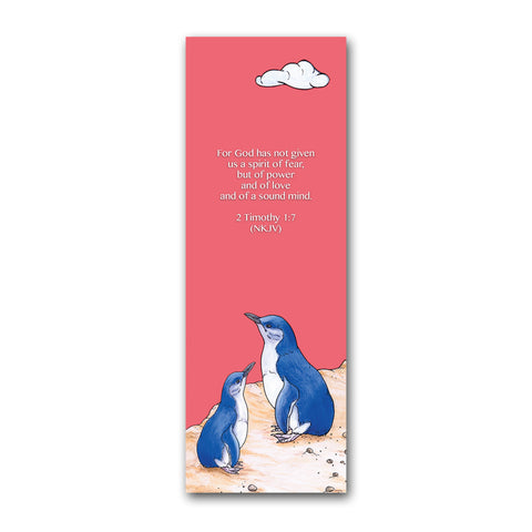 Little Blue Penguins Bookmark