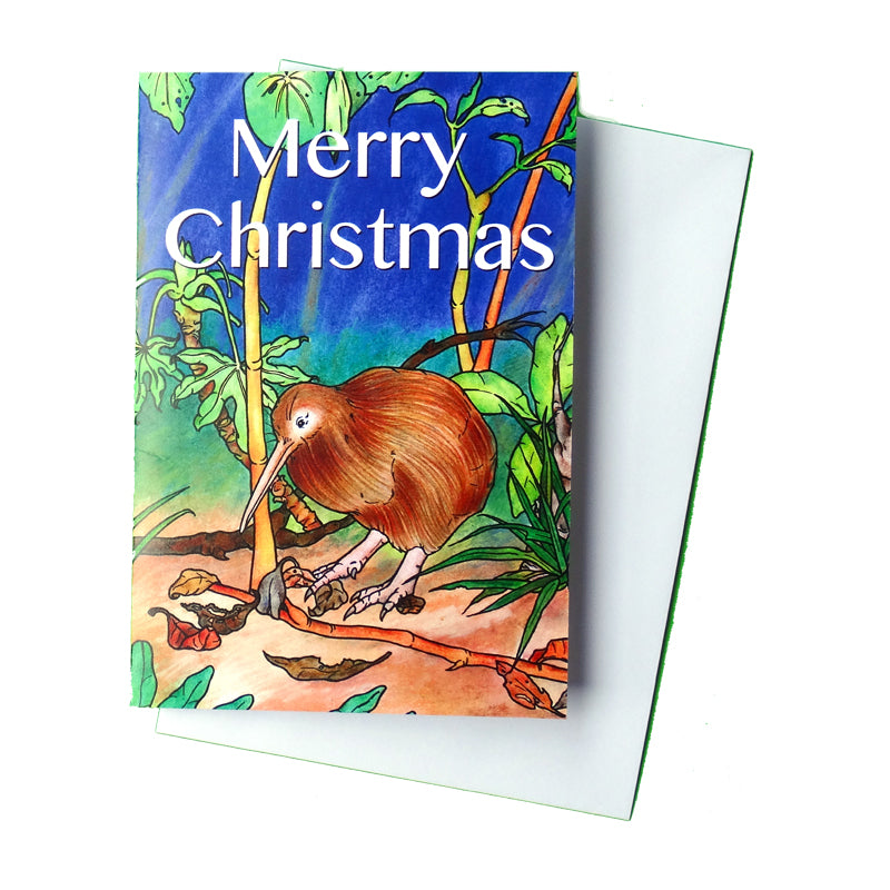 Christopher Kiwi Australian Adventure Christmas Card