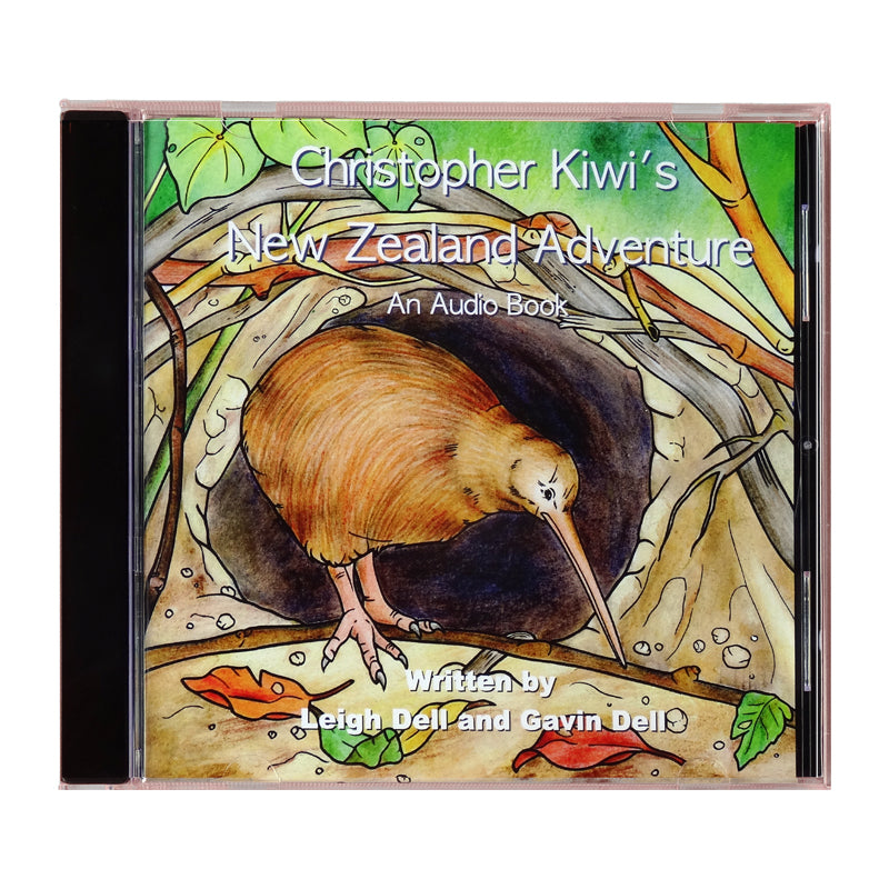 Christopher Kiwi's New Zealand Adventure - Audiobook