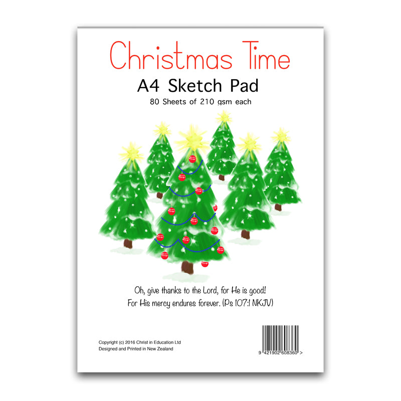 Christmas Time Sketch Pad