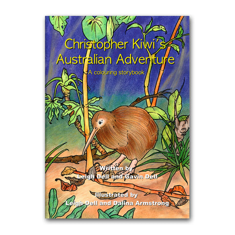 Christopher Kiwi's Australian Adventure