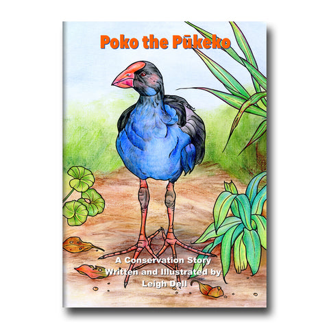 Poko the Pukeko