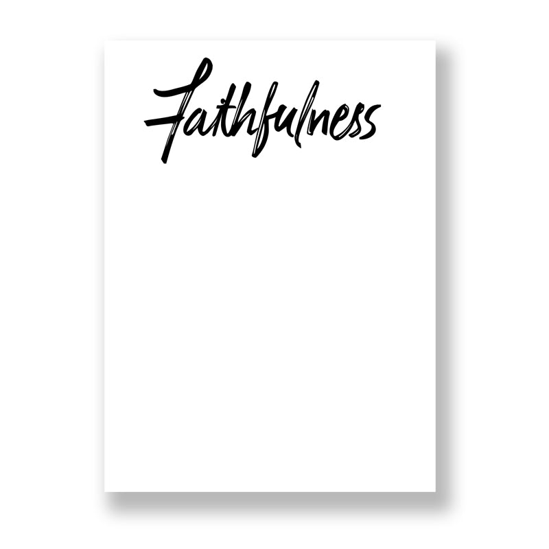 Faithfulness Pad