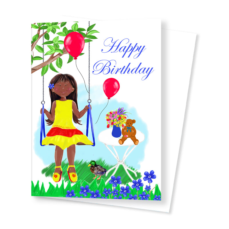 Birthday Card for a Special Girl