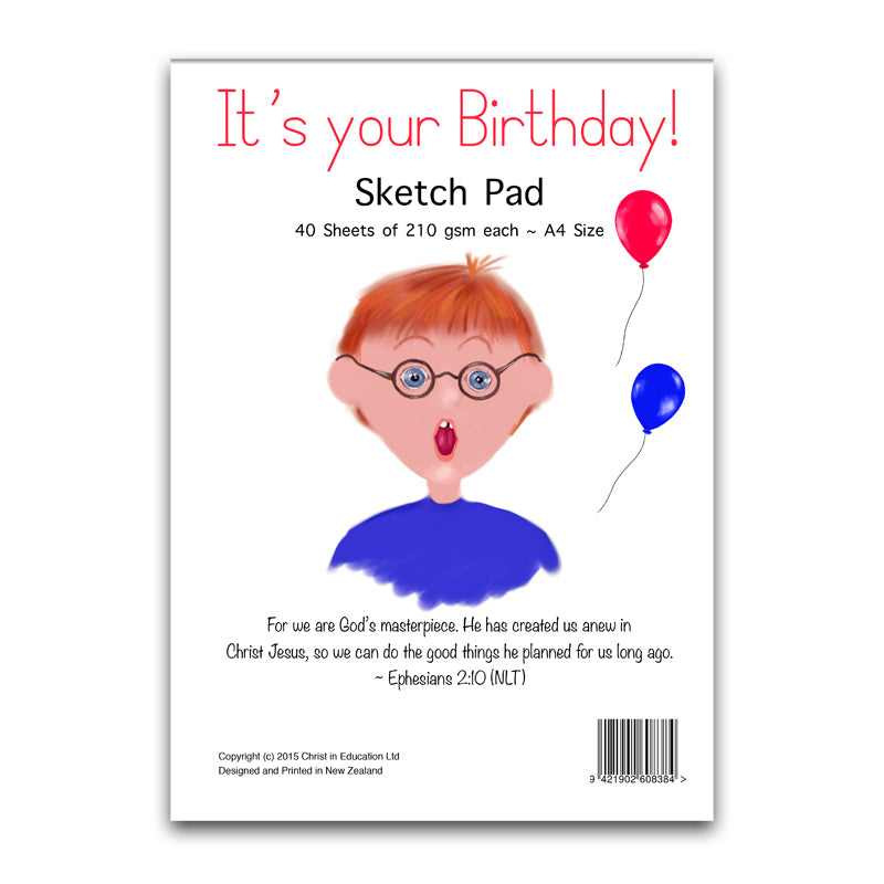 It's your Birthday! Sketch Pad