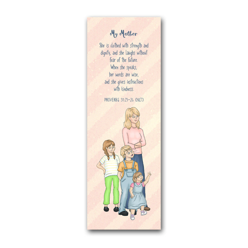 Mother & Children Bookmark