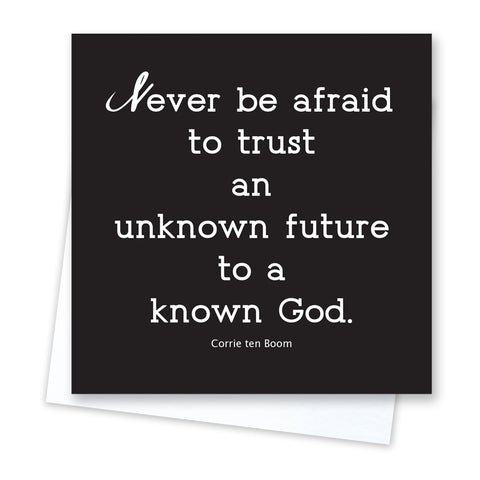 Quotable Quotes - Trust Card