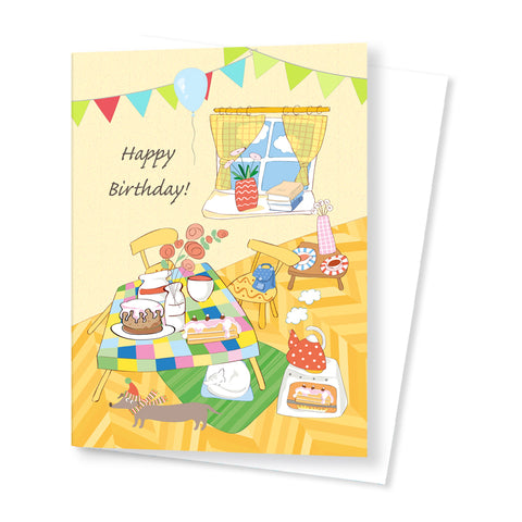 Quirky Birthday Card