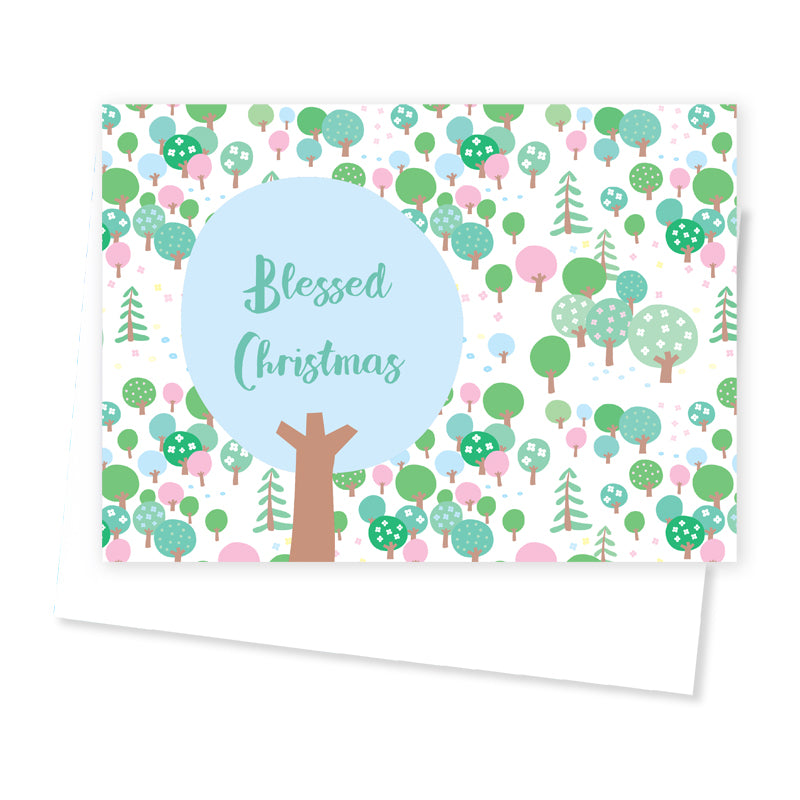 Quirky Christmas Greetings' Card