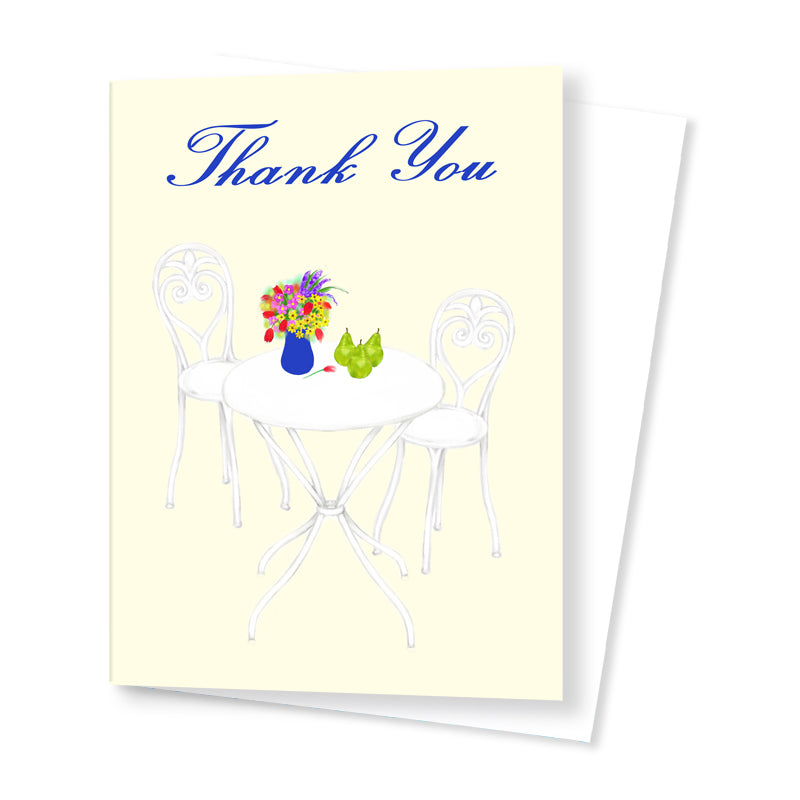 Thank you Card (Elegant)