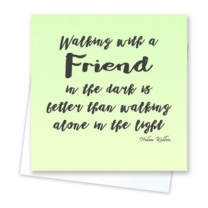 Walking Together Card