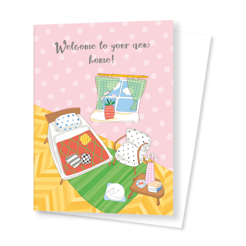 Quirky New Home Card