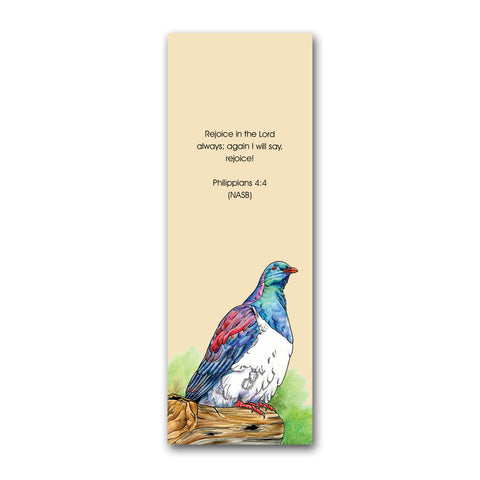 Wood Pigeon Bookmark