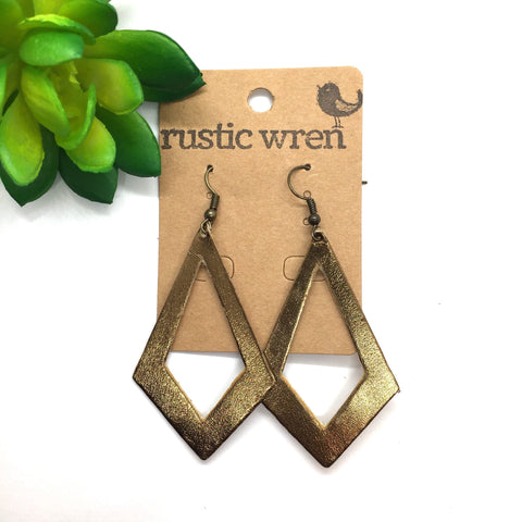 Bronze Diamonds - Rustic Wren