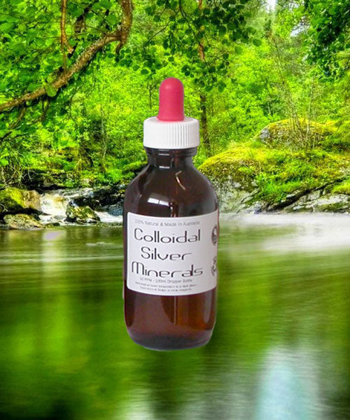 100ml Colloidal Silver in Dropper Bottle