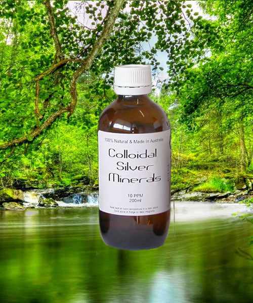 200ml Colloidal Silver Bottle