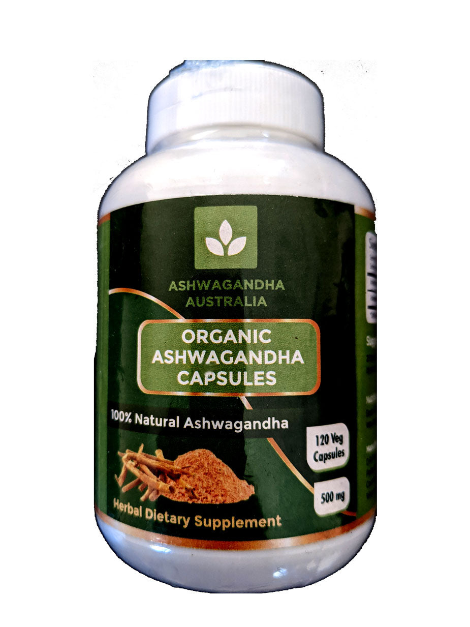 Ashwagandha in Vegetable Capsules PET