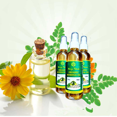 Cold Pressed Moringa Oil