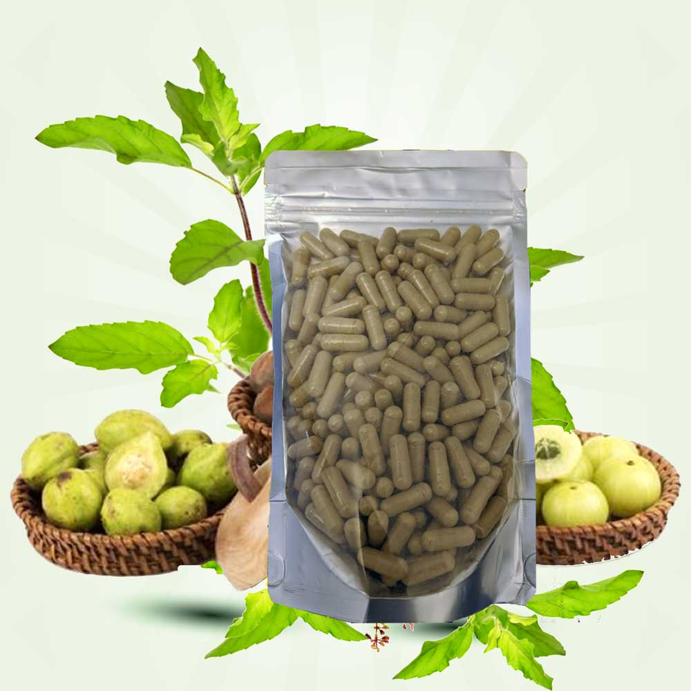 Triphala in Vegetable Capsules 140g