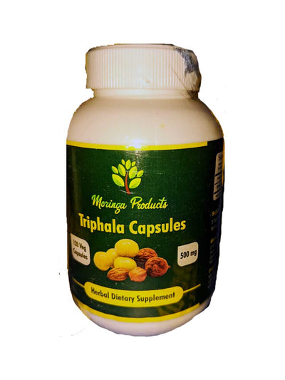 Triphala in Vegetable Capsules