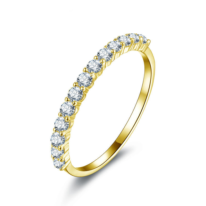 stone tcw products to preadored diamond yellow vintage ring stackable gold anniversary